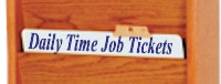 Daily Time & Job Tickets