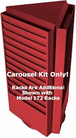 3 Rack Carousel Option